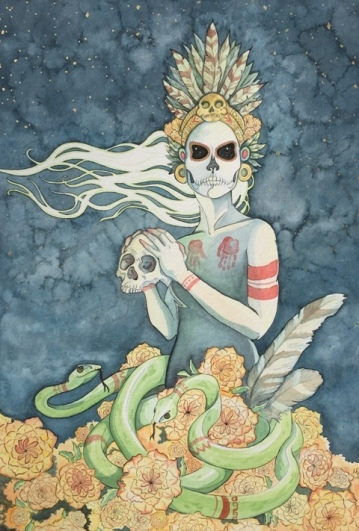 Micetecihuatl, Lady of the Dead