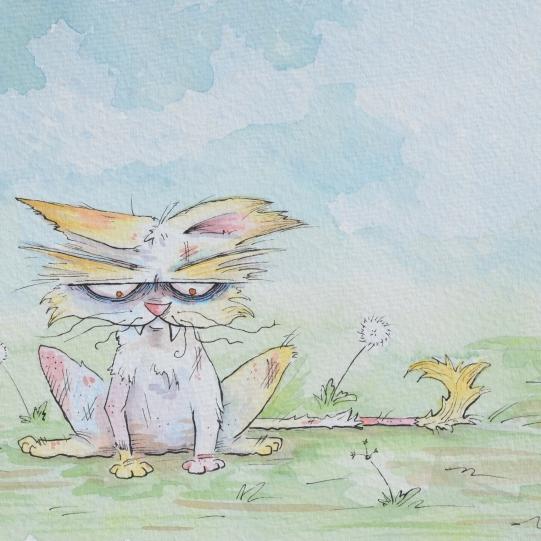 Sample work for Children's Book D.U.C. #2