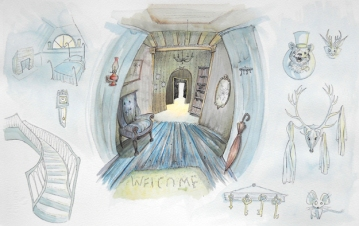 Scary Story Interior